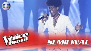 Mylena Jardim canta 'Love On The Brain' na Semifinal – 'The Voice Brasil' | 5ª Temporada