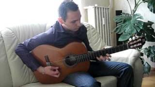 Sándor Brothers (Sándor Elemér).Az én rózsám.Gipsy guitar music.avi