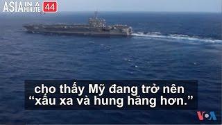 Bắc Triều Tiên nói đã sẵn sàng cho chiến tranh với Hoa Kỳ (VOA60 châu Á)