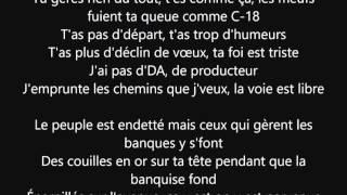 """paroles """"question d'honneur"""" Nekfeu ft. S-Crew"""