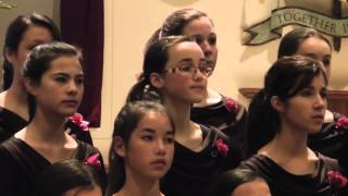 """Cantabile Youth Singers -  """"Angel"""" (Op. 15, No. 6) by Rachmaninoff"""