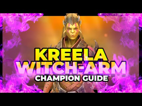 RAID | Kreela Witch-Arm Guide! Meme or Dream?