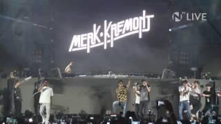 La DARK POLO GANG al Nameless con Merk & Kremont (LIVE)
