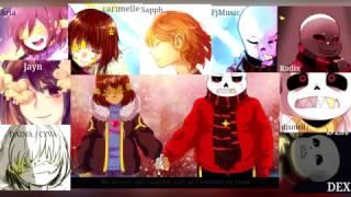 【合唱】 Secret Garden (Flowerfell) - YouTube Chorus 【7人+3】