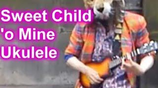Guns N' Roses - Sweet Child 'O Mine - Ukulele - PocketFluff
