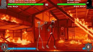 Grey Ninja Gameplay Showcase