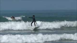 Surfista de 9 anos  de idade Caique N. Sabino