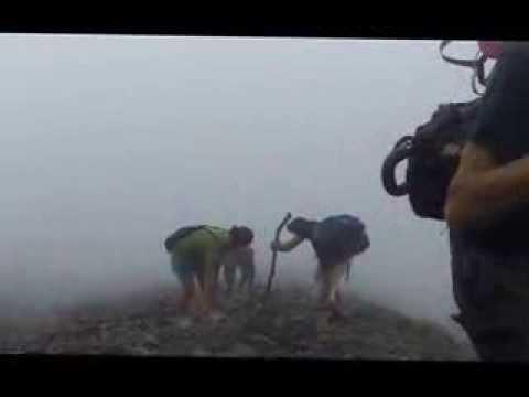 Climbing Volcan Concepcion