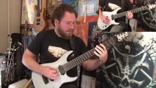 GEAR GODS REVIEW/DEMO - Schecter KM-7 Keith Merrow Signature