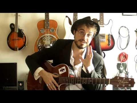 Comment jouer La nuit je mens d'Alain Bashung à la guitare 1/2