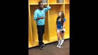 Avery and Iyaz singing Replay (Live - no cover)