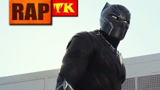 Rap do Pantera Negra - Guerra Civil // Vingança // TK RAPS