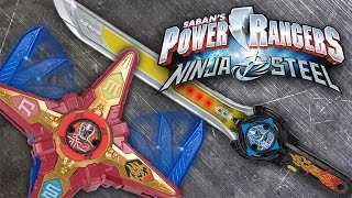 SABAN'S POWER RANGERS NINJA STEEL DX Morpher and Battle Gear Commercial by BANDAI