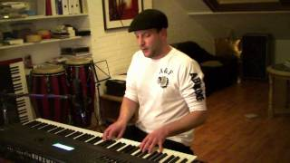 10cc - I'm not In love (Cover) The Pianoman (TVDL)
