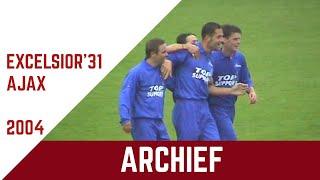 Screenshot van video ARCHIEF | Excelsior'31 - Ajax (oefenwedstrijd 2004)