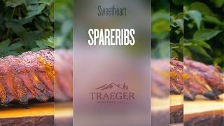 Smoked Rendezvous Spareribs vom Traeger Pellet Grill