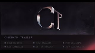 Cinematic Trailer - After Effects Template - Videohive