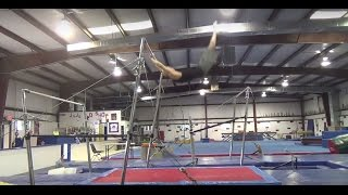 HOW TO SWING ON THE BARS - BASIC TAP SWINGS TUTORIAL - Gymnastics Uneven Bars High Bar Parkour