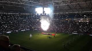 Steigerlied Schalke Leverkusen 19.12.2018 Abschied Bergbau Nordkurve