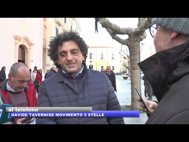 INTERVISTA A DAVIDE TAVERNISE M5S