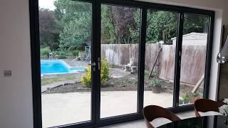 Schueco Bifold Doors and windows