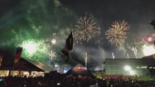 Best Angle - Porter Robinson Closing EDC 2017 - Goodbye / Language Live (+FIREWORKS!)
