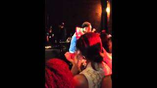 Jacob Latimore Performing Alone (Live)