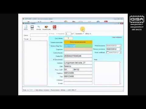 SOFTCARD - Visualizzare le tessere associate ai clienti / dipendenti