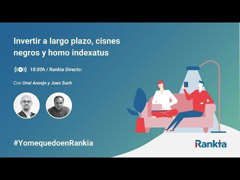 El domingo 29 de Marzo, Unai Ansejo hizo una presentación online y tuvo una conversación con Juan Such, cofundador y Presidente de Rankia, acerca de la inversión a largo plazo siguiendo los criterios de indexación y diversificación global.