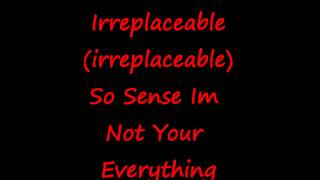 Beyonce - Irreplaceable Lyrics