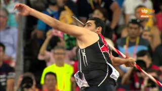 Ihab Abdelrahman El Sayed 88.99m Silver Javelin World Championships 2015 HD