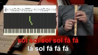 Sugar   Maroon5   Notas para flauta   Educação Musical