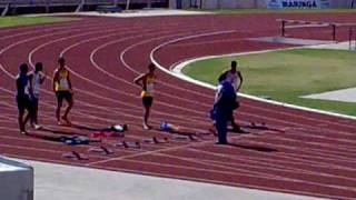 100 metros - Camp. Paranaense Juvenil (Vanderlei Junior)