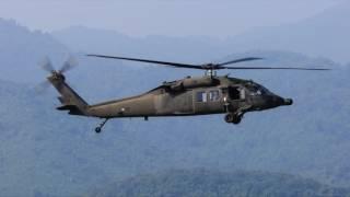 Barulho de helicóptero militar