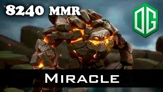 Miracle Tiny 8240 MMR Ranked Dota 2