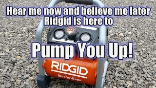 Ridgid Gen5X - 1 Gal. 18-Volt Air Compressor R0230 Review & Tips