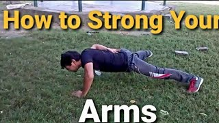 How to increase your hand power at home