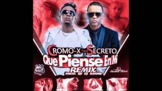 Cromo X ft Secreto - Que piense en mi (Remix)