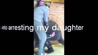 Psycho Ex wife has daughter arrested hurts son