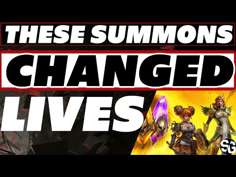 Summons like you've never seen! Raid Shadow Legends Legendary summons