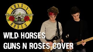 Guns n Roses - Wild Horses (Guitar Cover)