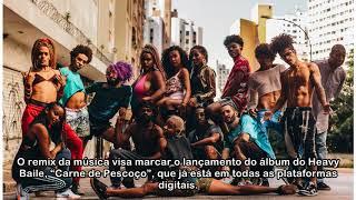 """Heavy Baile lança clipe do remix de """"CATUABA"""" com Tati Zaqui e Bonde das Maravilhas"""
