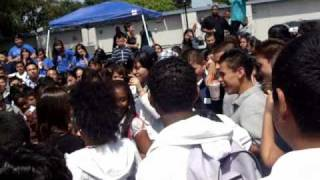 Daechelle's Concert Waite Middle School- Career Day- Fearless School Tour Part 2