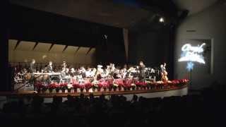 Holiday Piece - Carol of the Bells - Cascade High School Wind Ensemble 12/11/13