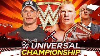 WWE Extreme Rules 2017 John Cena vs Brock Lesnar WWE Universal Championship Match