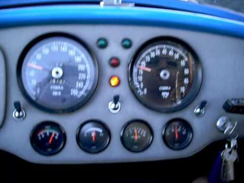 Cobra driving down Signal Hill, Cape Town