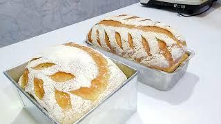 como fazer pão rustico sistema Autólise e dobras