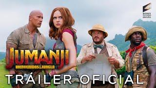 JUMANJI: BIENVENIDOS A LA JUNGLA. Tráiler oficial HD en español. En cines 22 de diciembre
