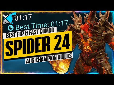 """""""FREE TO PLAY"""" COMBO FOR SPIDER 24/25 SPEED RUNS 
