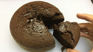 Oreo biscuit cake in pressure cooker | Without eno